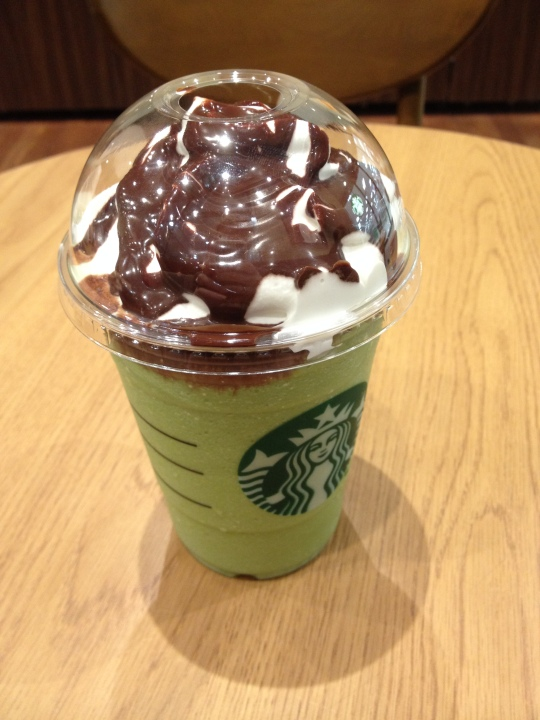 No one ever told me chocolate sauce was free at Starbucks! This was an exciting moment.