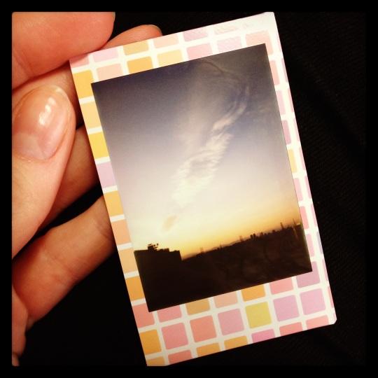I bought a polaroid!!