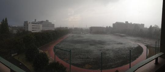 Same rain, pano style