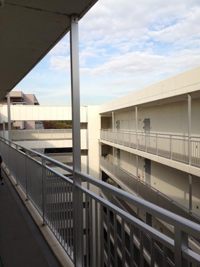 My dorms; 6th floor from near my bedroom door :)