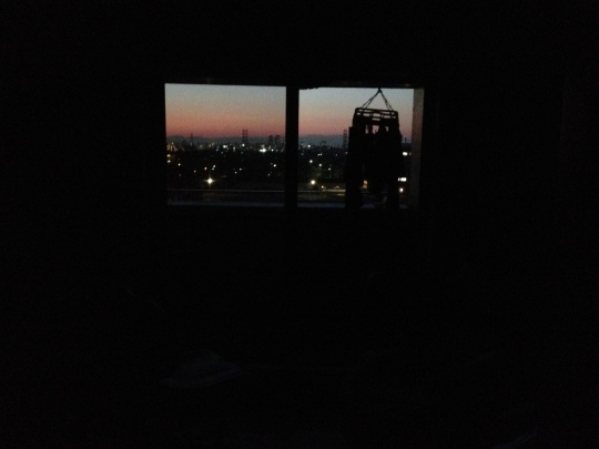 I love coming home to a sunset and just having this view to welcome me!
