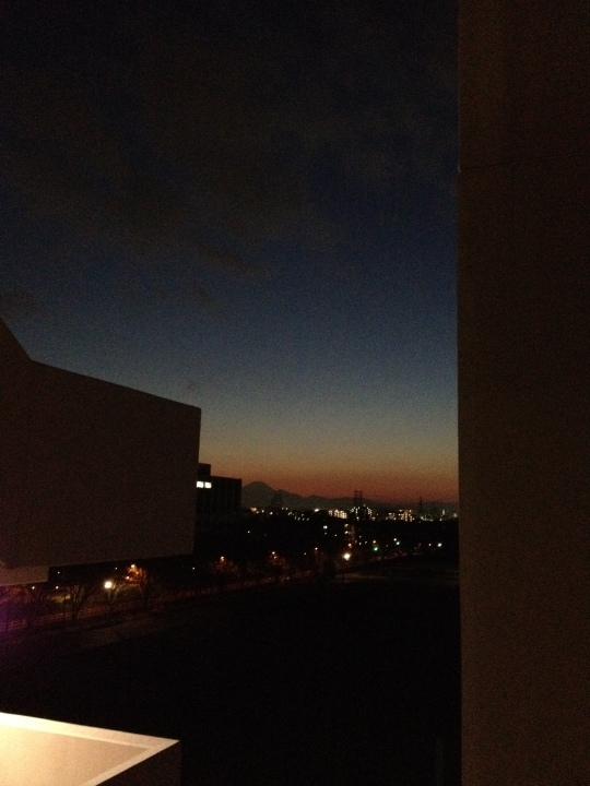 Another Fuji sunset