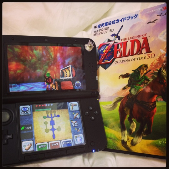 I bought the Japanese guide for my Japanese version of Zelda and now I can finally get past damn Jubajuba! It counts as practice :P