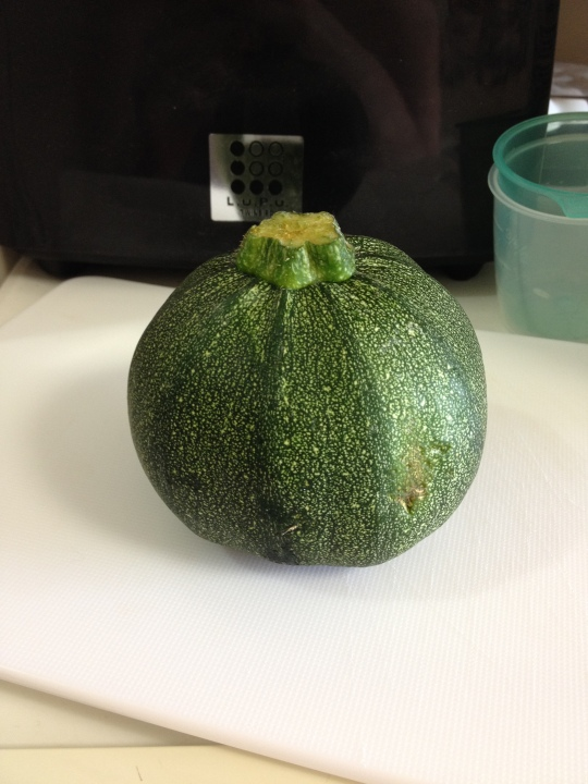This is a fun courgette! It was yummy and cost the same as a normal one so I got this haha!