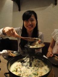 Hikari serving up!