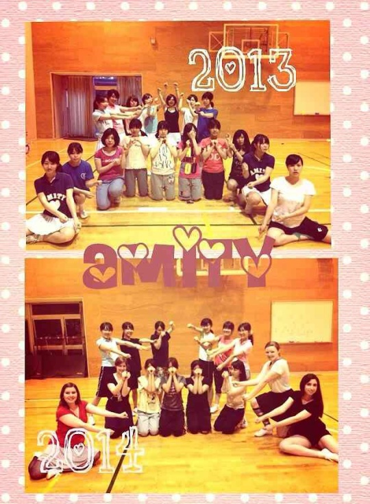 Last year's Amity and this years! So much cheer :D