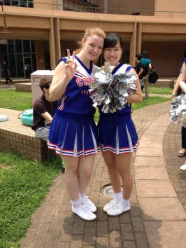 This is Hikari; she taught me the first dance we learnt ^__^
