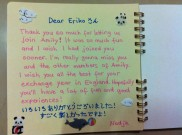 Nadja's message; so neat!