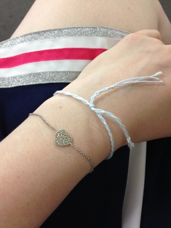 Eriko gave us all bracelets too; I couldn't have been spoilt more today <3