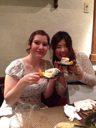 Mao and Nadja with caaaake