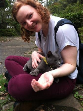 I found a very friendly kitty!