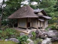 A wee tea house in Kodaiji