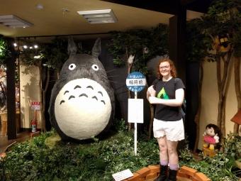 We found a Ghibli shop!