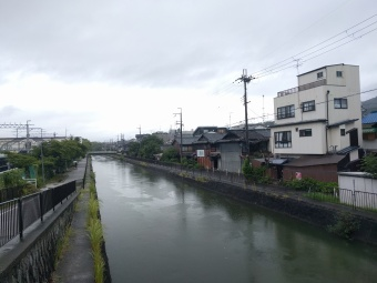 The river we followed to the shrine
