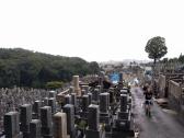 The cemetery on the way to Kiyomizudera