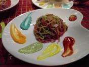 Rainbow pasta!