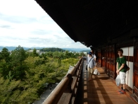 The top of the gate at Nanzenji. Very awesome.