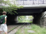 After Nanzenji, we walked down the overgrown railway track thing nearby, which was pretty interesting in the middle of the city.
