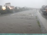 Hugely overflowing