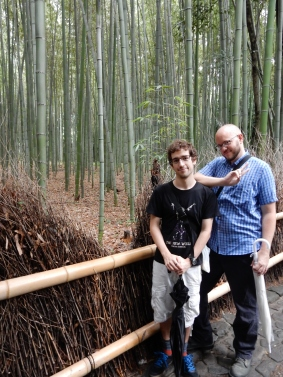 In the bamboo!