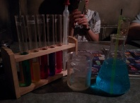 My drink was a test tube set :D